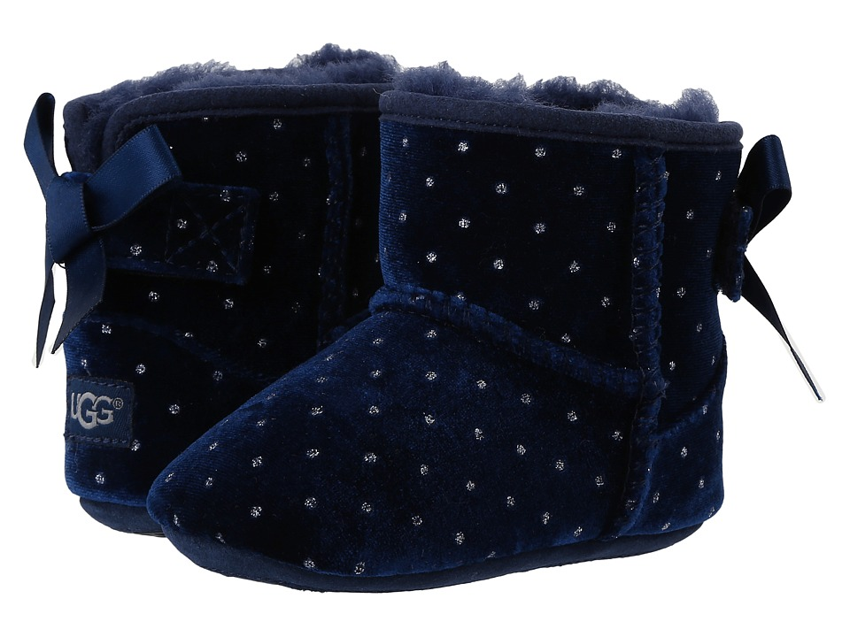 UGG Kids - Jesse Bow Starlight (Infant/Toddler) (Navy) Girls Shoes