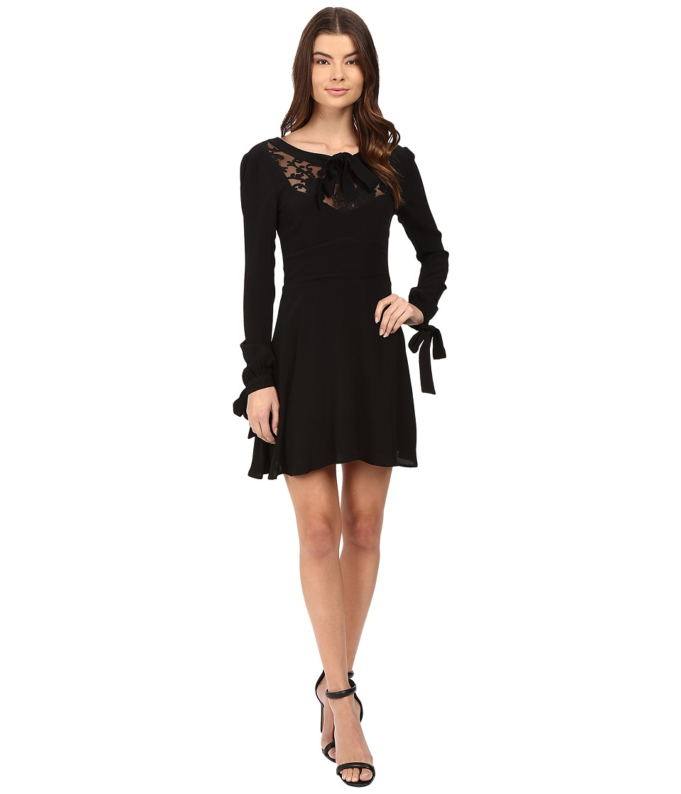 For Love and Lemons - Ellery Mini Dress (Black) Women's Dress