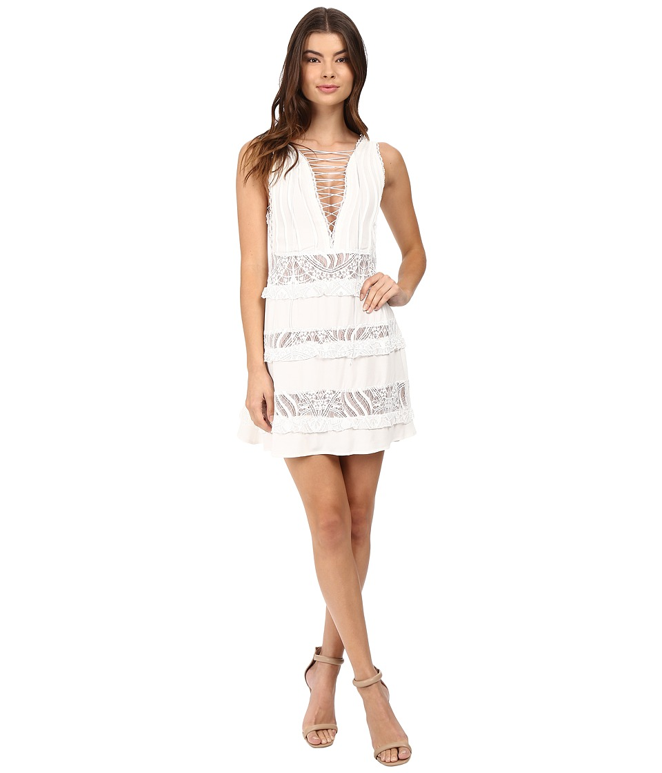For Love and Lemons - Lola Rose Sleeveless Dress (White) Women's Dress