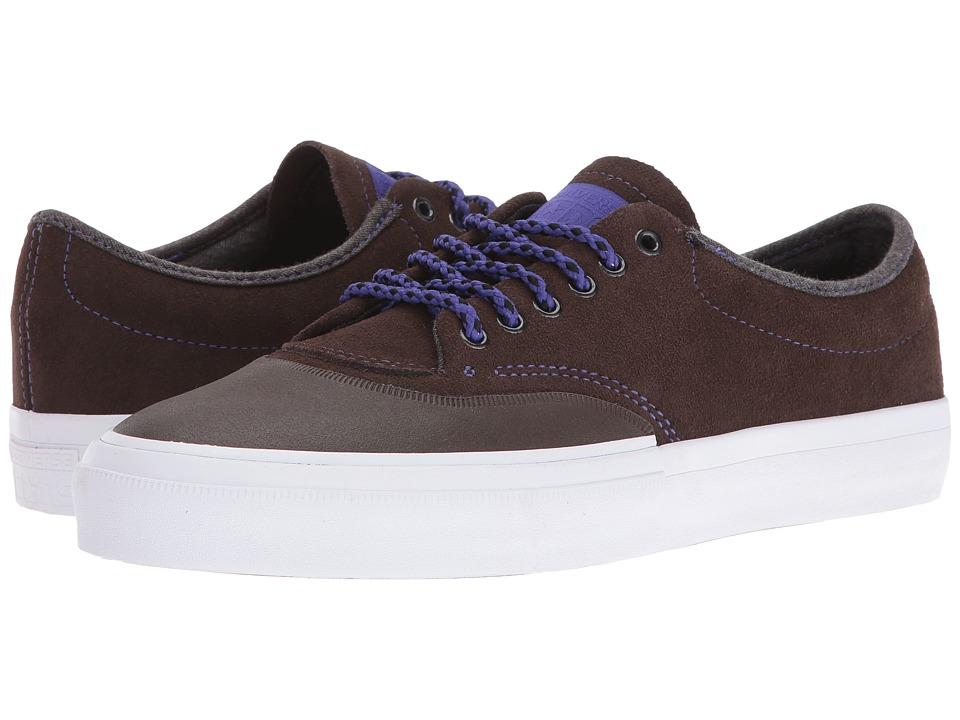 Converse Skate - Crimson Suede (Hot Cocoa/Candy Grape/White) Shoes