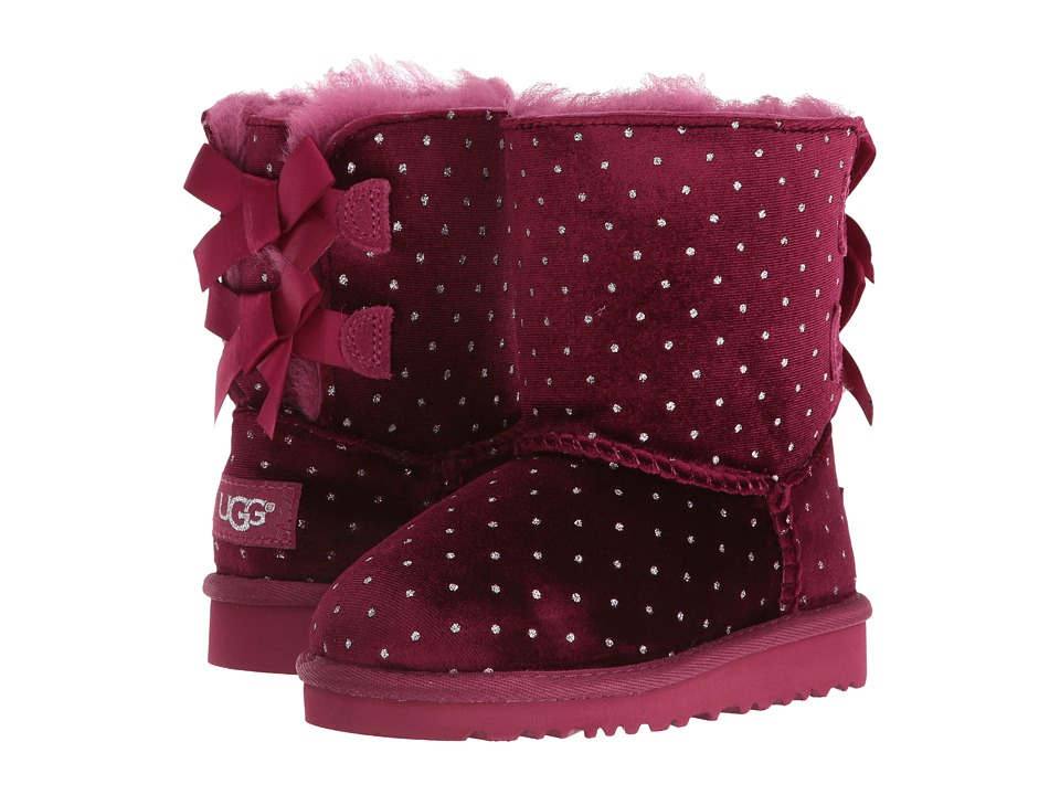 UGG Kids - Bailey Bow Starlight (Toddler/Little Kid) (Lonely Hearts) Girls Shoes