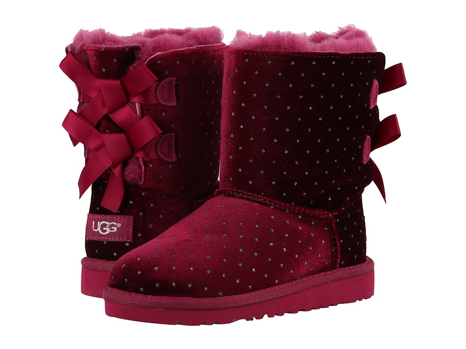 UGG Kids - Bailey Bow Starlight (Little Kid/Big Kid) (Lonely Hearts) Girls Shoes