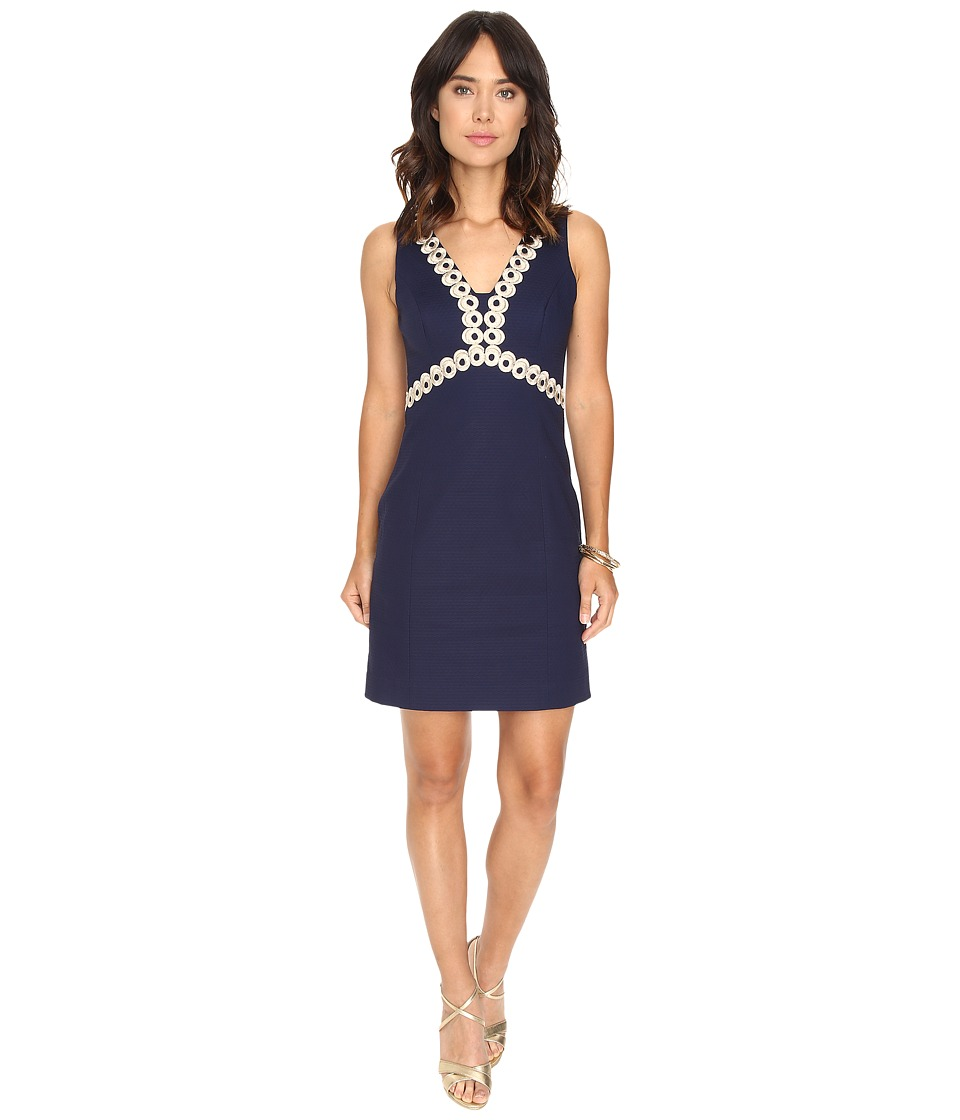 Lilly Pulitzer - Esme Shift Dress (True Navy) Women's Dress