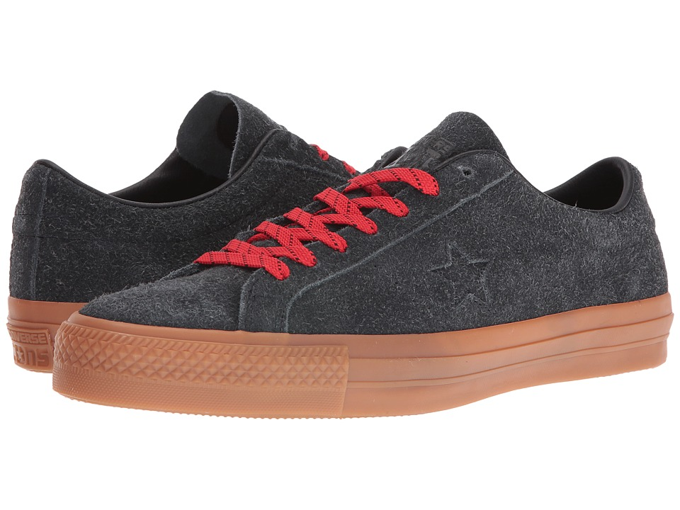 Converse - One Star Pro Suede (Black/Casino/Gum) Shoes
