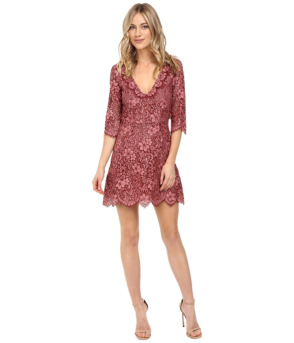 For Love and Lemons - Theodora Mini Dress (Rosie) Women's Dress