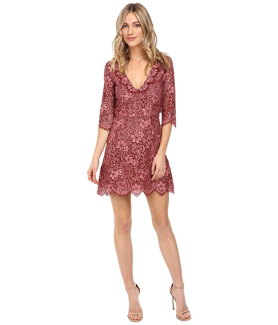 For Love and Lemons - Theodora Mini Dress (Rosie) Women's Dress
