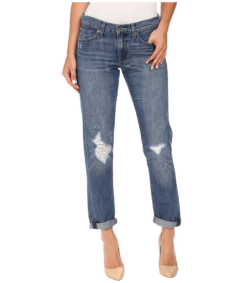 Lucky Brand - Sienna Slim Boyfriend in Olympic Blue (Olympic Blue) Women's Jeans