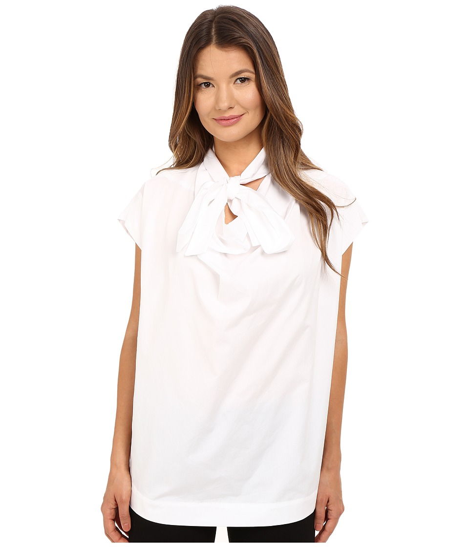 Vivienne Westwood - Short Sleeve Garret Blouse (Optical White) Women's Blouse