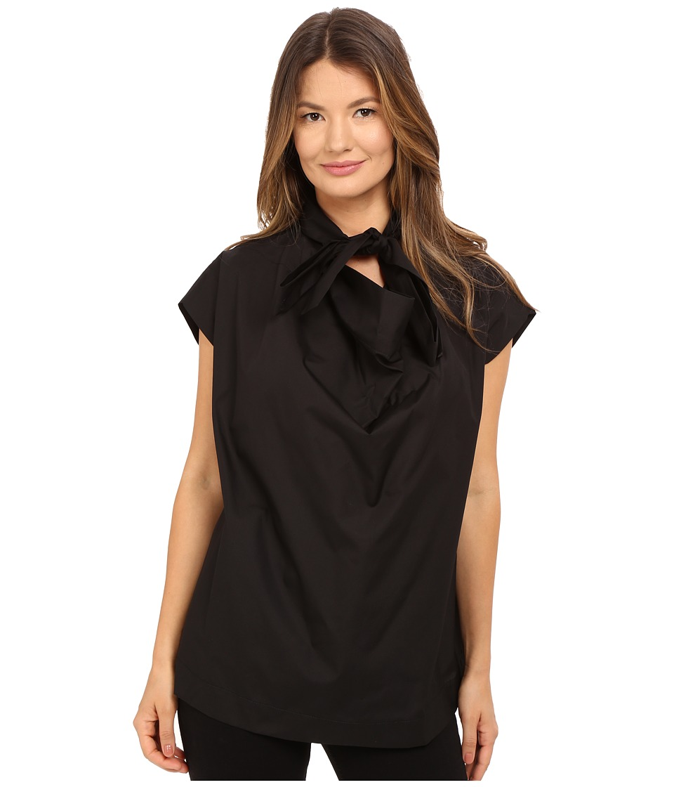 Vivienne Westwood - Short Sleeve Garret Blouse (Black) Women's Blouse
