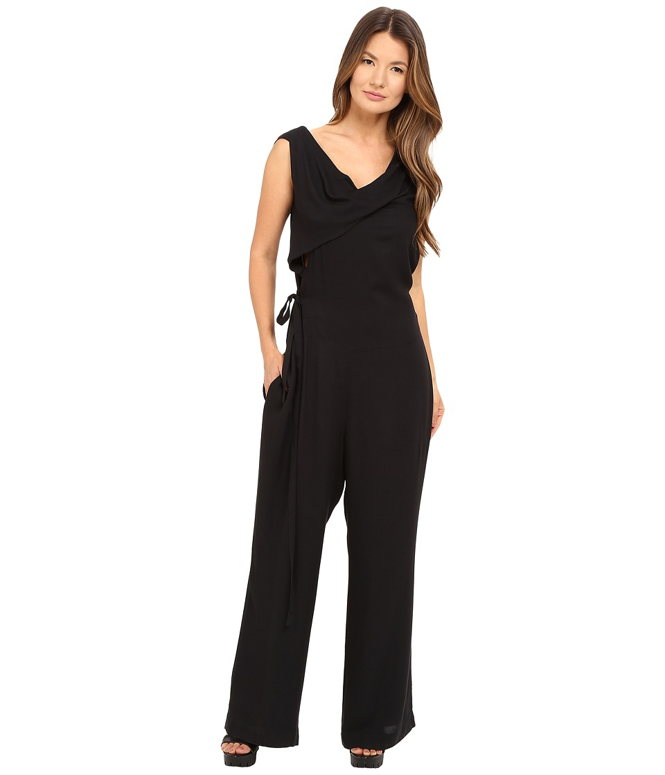 Vivienne Westwood - Twisted Jumpsuit (Black) Women's Jumpsuit & Rompers One Piece