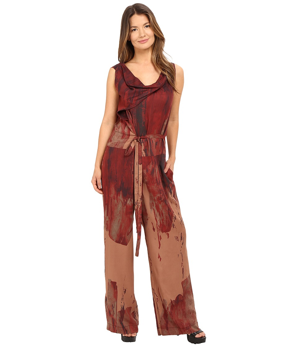 Vivienne Westwood - Twisted Jumpsuit (Red) Women's Jumpsuit & Rompers One Piece