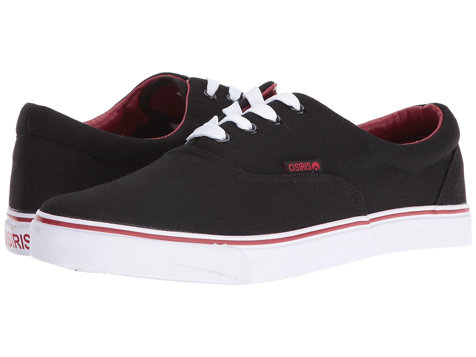 Osiris - SD (Black/White/Red) Skate Shoes