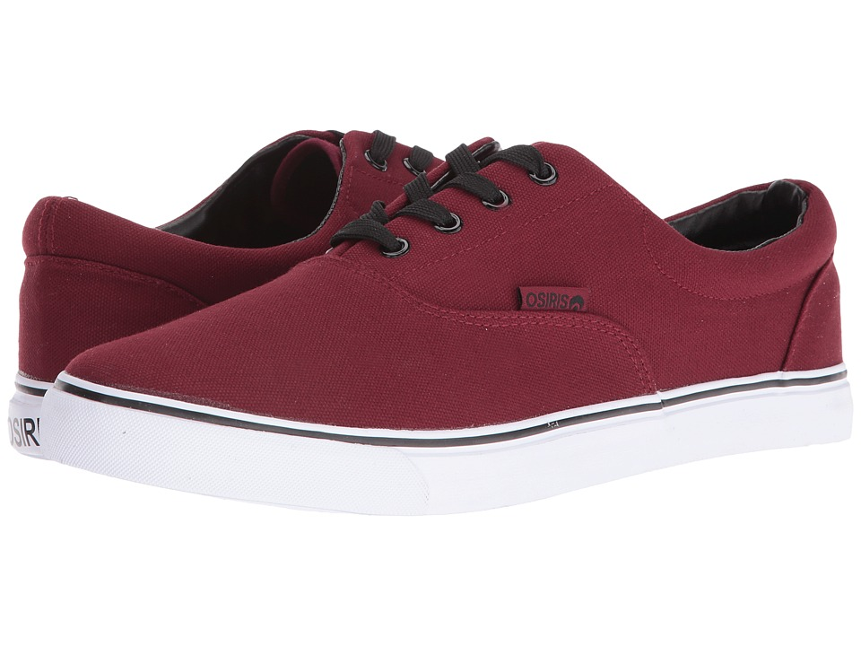 Osiris - SD (Burgandy/White/Black) Skate Shoes