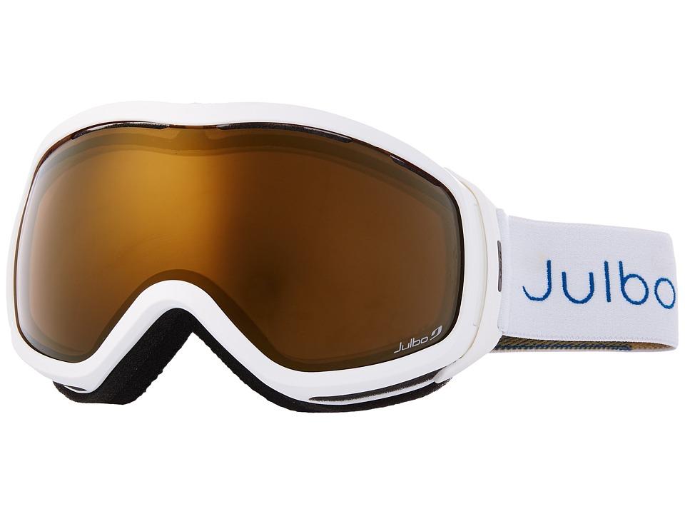 Julbo Eyewear - Elara (White/Gold) Snow Goggles