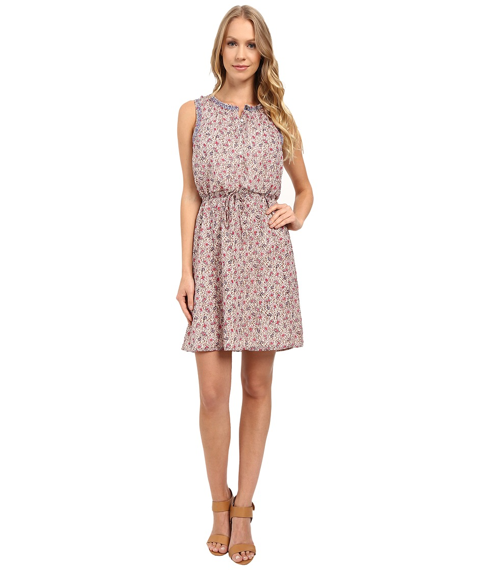 Lucky Brand - Printed Paisley Dress (Pink Multi) Women's Dress