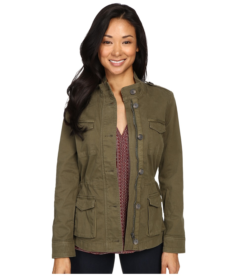 Lucky Brand - The Utility Jacket (Olive) Women's Coat