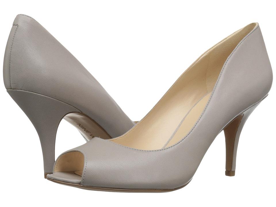 Nine West - Orissa (Grey Leather) Women's Shoes
