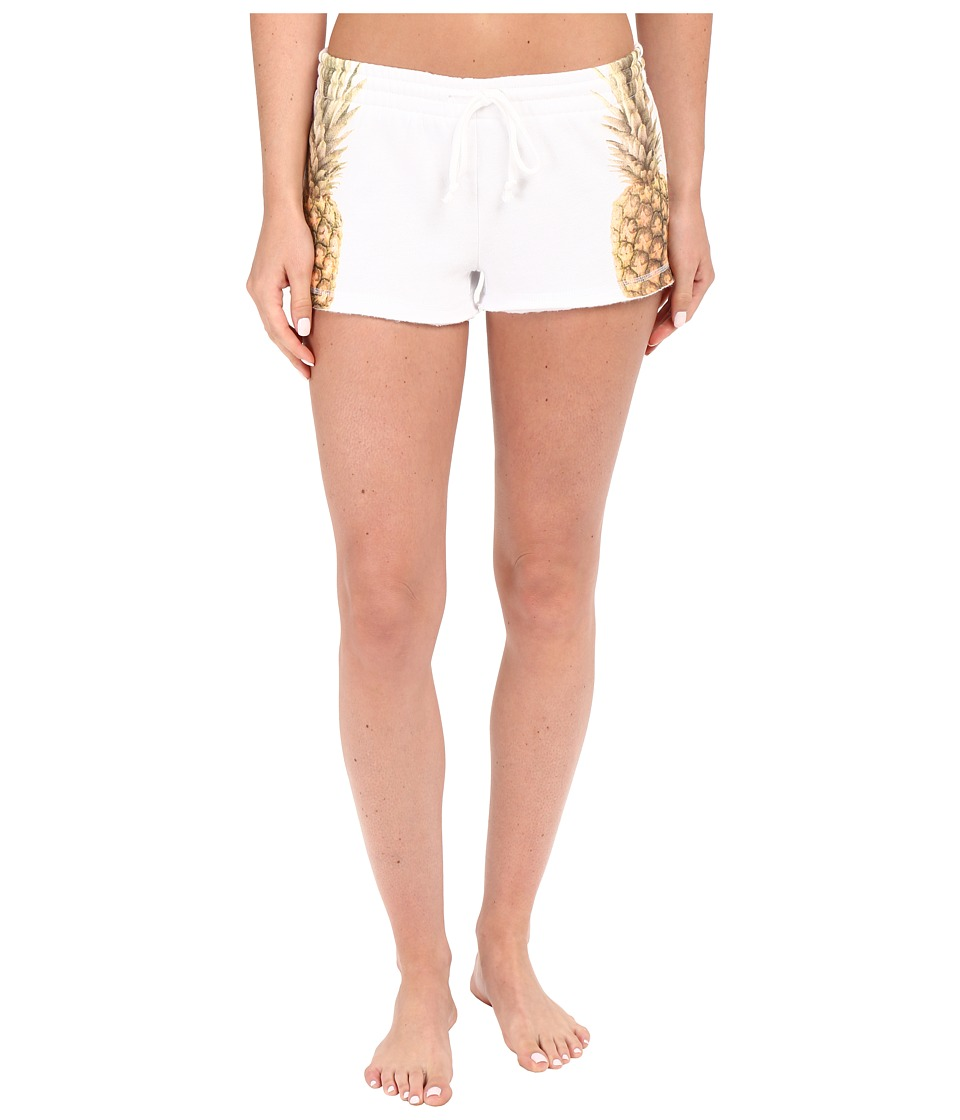 P.J. Salvage - Pineapple Shorts (White) Women's Pajama
