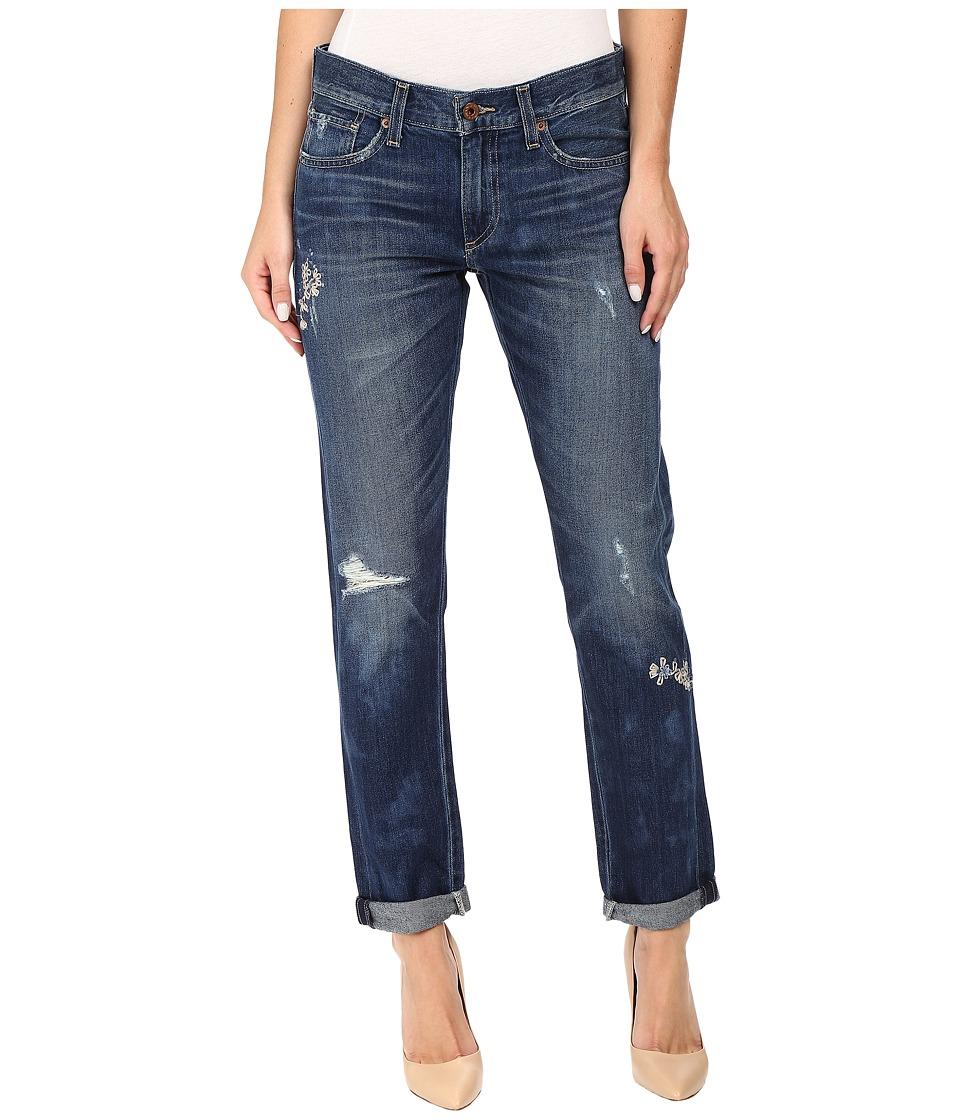 Lucky Brand - Sienna Slim Boyfriend in Dark Sky (Dark Sky) Women's Jeans