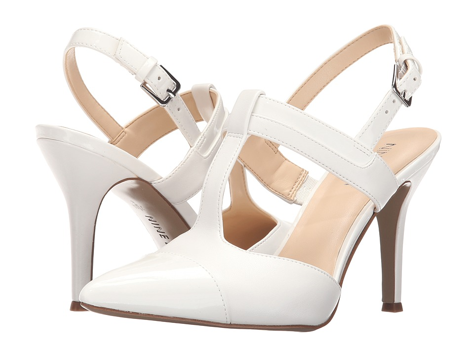Nine West - Firenice (White/White) Women's Shoes