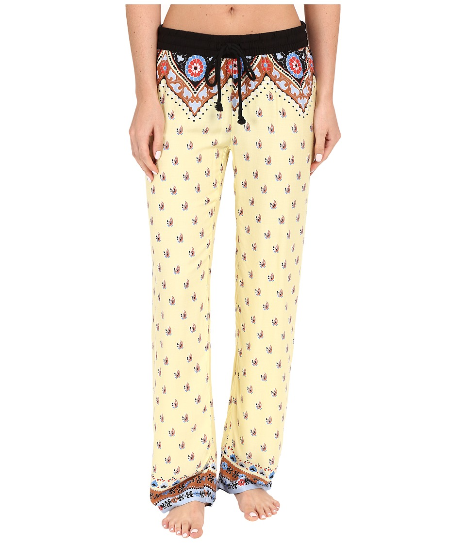 P.J. Salvage - Summer Nights Lounge Pants (Yellow) Women's Pajama