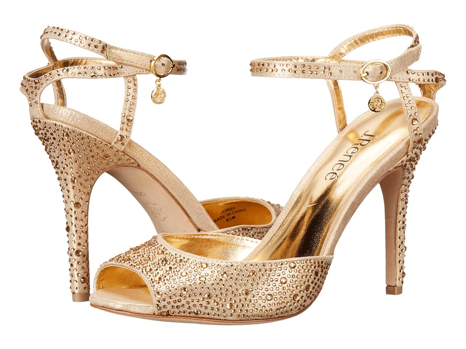J. Renee Jordy (Gold) High Heels