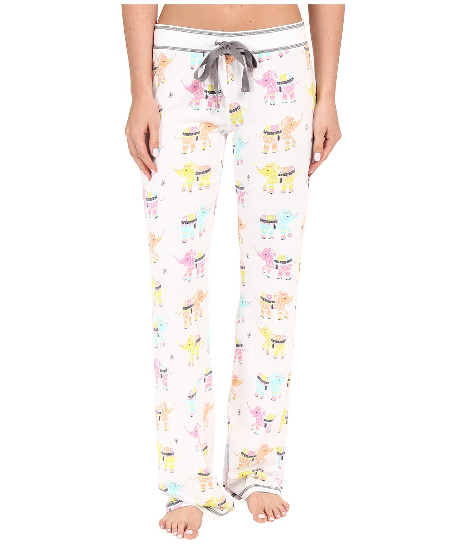 P.J. Salvage - Elephant PJ Sleep Pants (Ivory) Women's Pajama