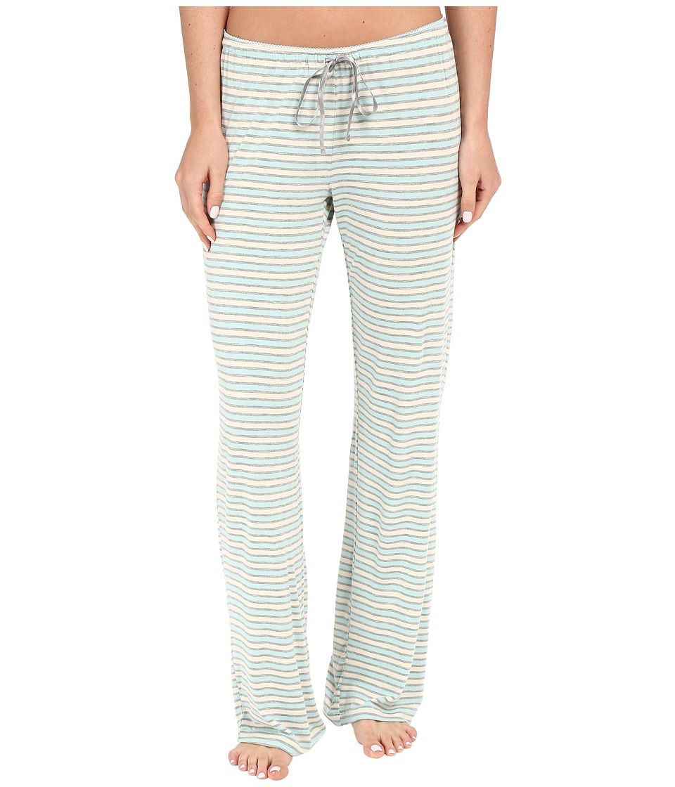 P.J. Salvage - Blue Stripe Lounge Pants (Blue) Women's Pajama