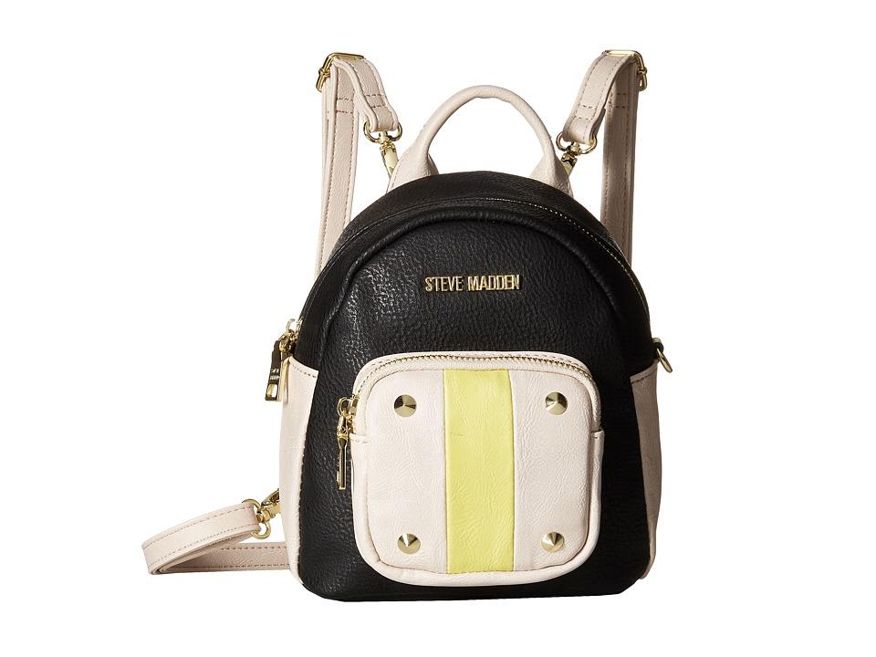 Steve Madden - Bloey (Black/Citron) Backpack Bags