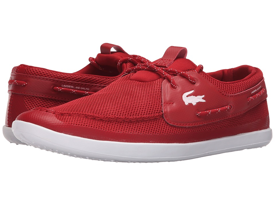 Lacoste - Landsailing TRG SPM (Red/White) Men