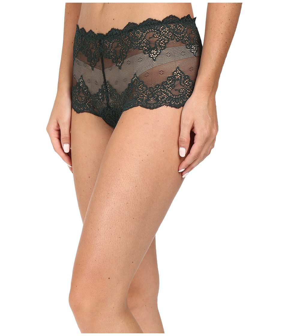 Only Hearts - So Fine Lace Cheeky Brief (Peacock) Women's Underwear