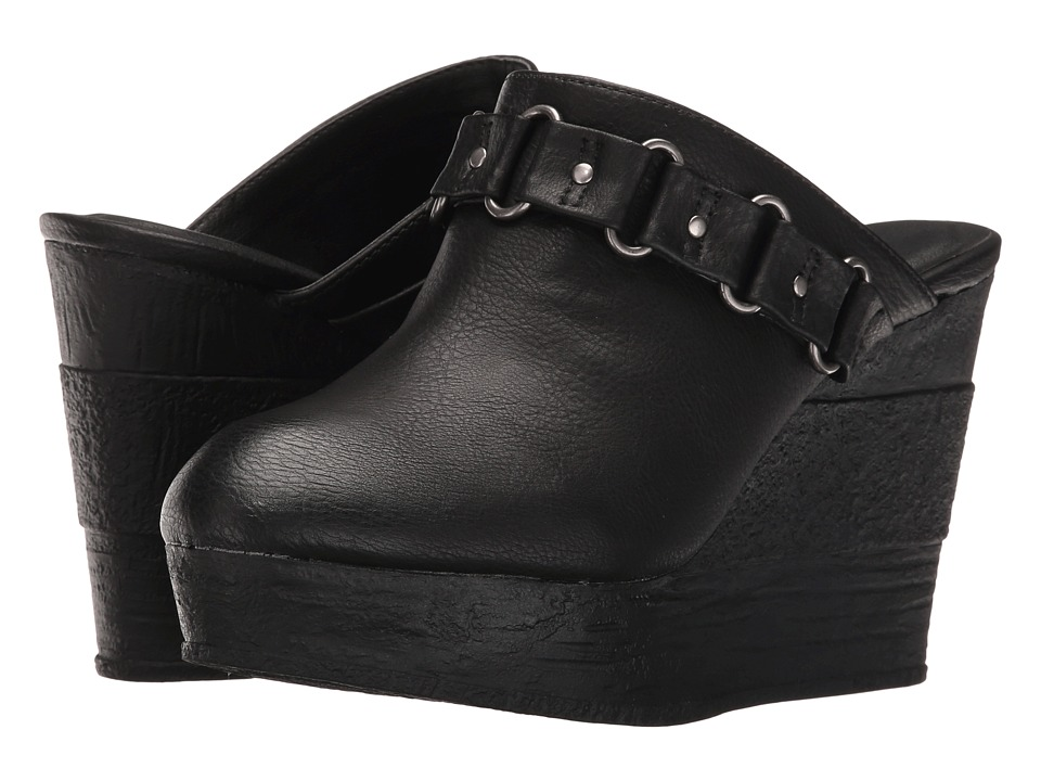 Sbicca - Holden (Black) Women's Wedge Shoes
