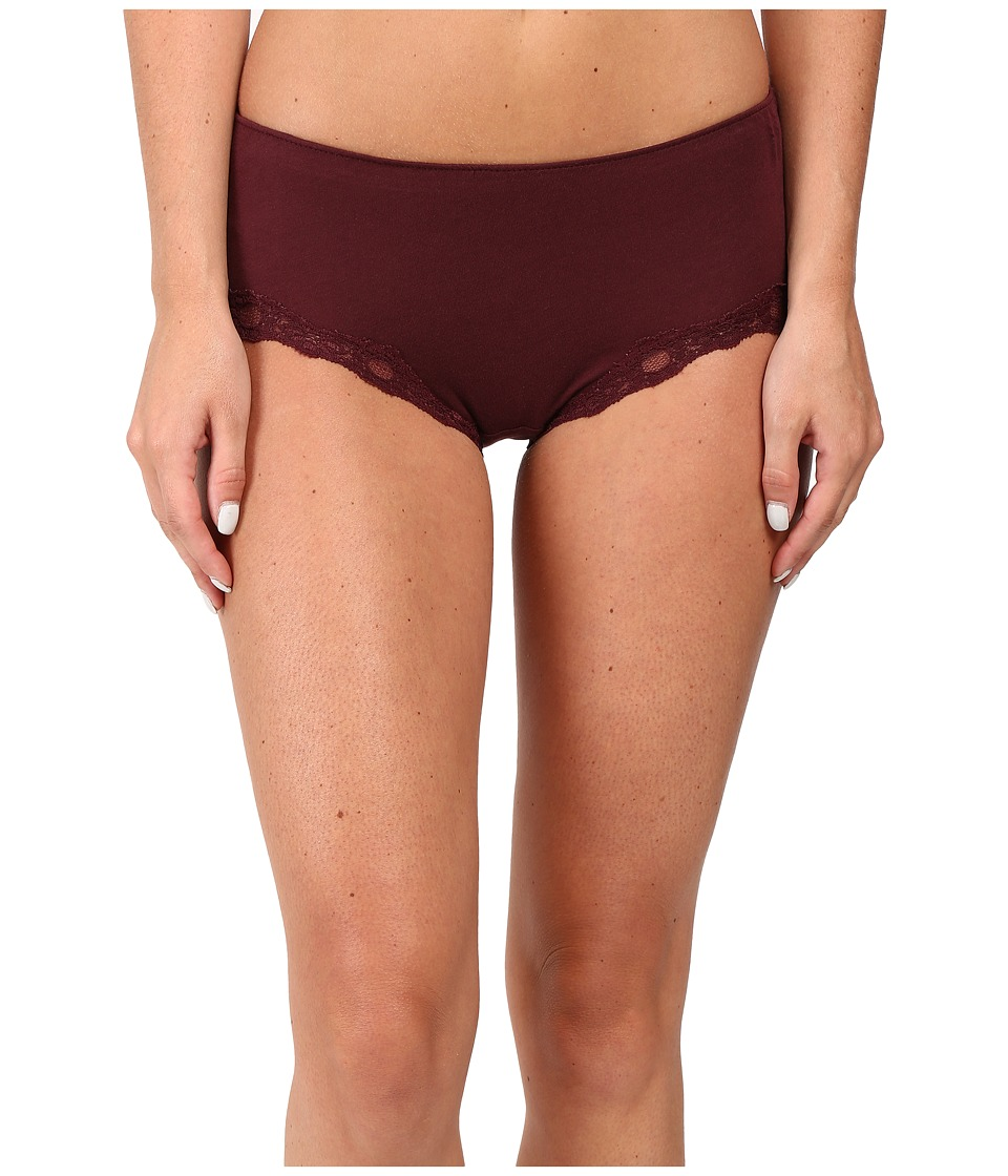Only Hearts - Organic Cotton Hipster (Wine) Women's Underwear
