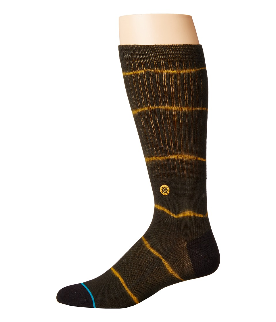 Stance - Frank (Gold) Men's Crew Cut Socks Shoes