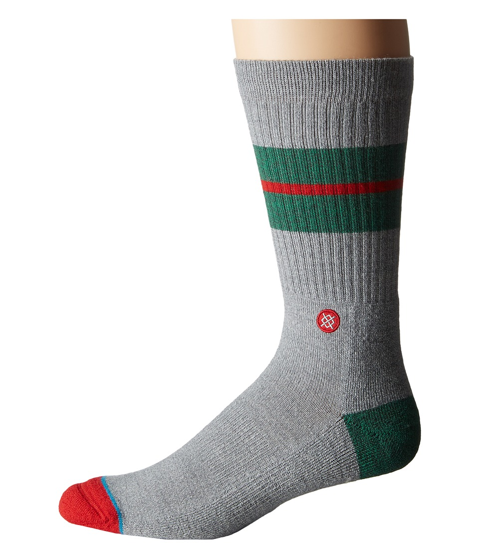 Stance - Sequoia Wool (Green) Men's Crew Cut Socks Shoes