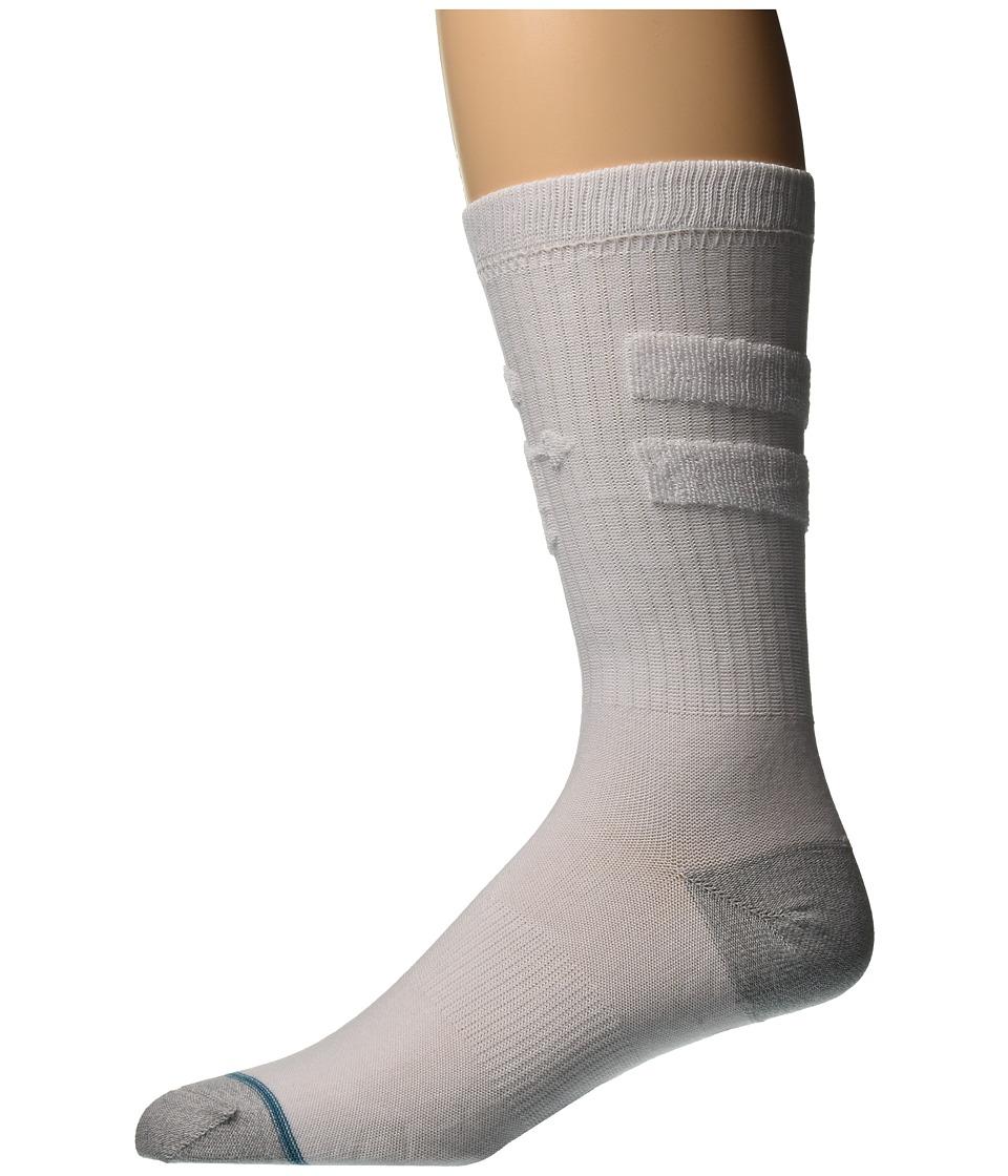 Stance - Revert (White) Men's Crew Cut Socks Shoes