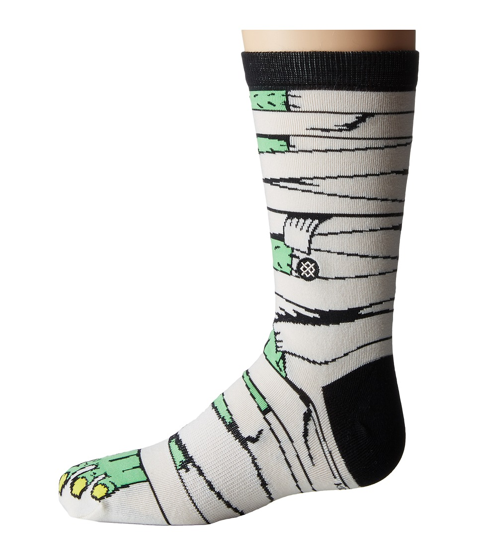 Stance - Toomb (Toddler/Little Kid/Big Kid) (Green) Men's Crew Cut Socks Shoes