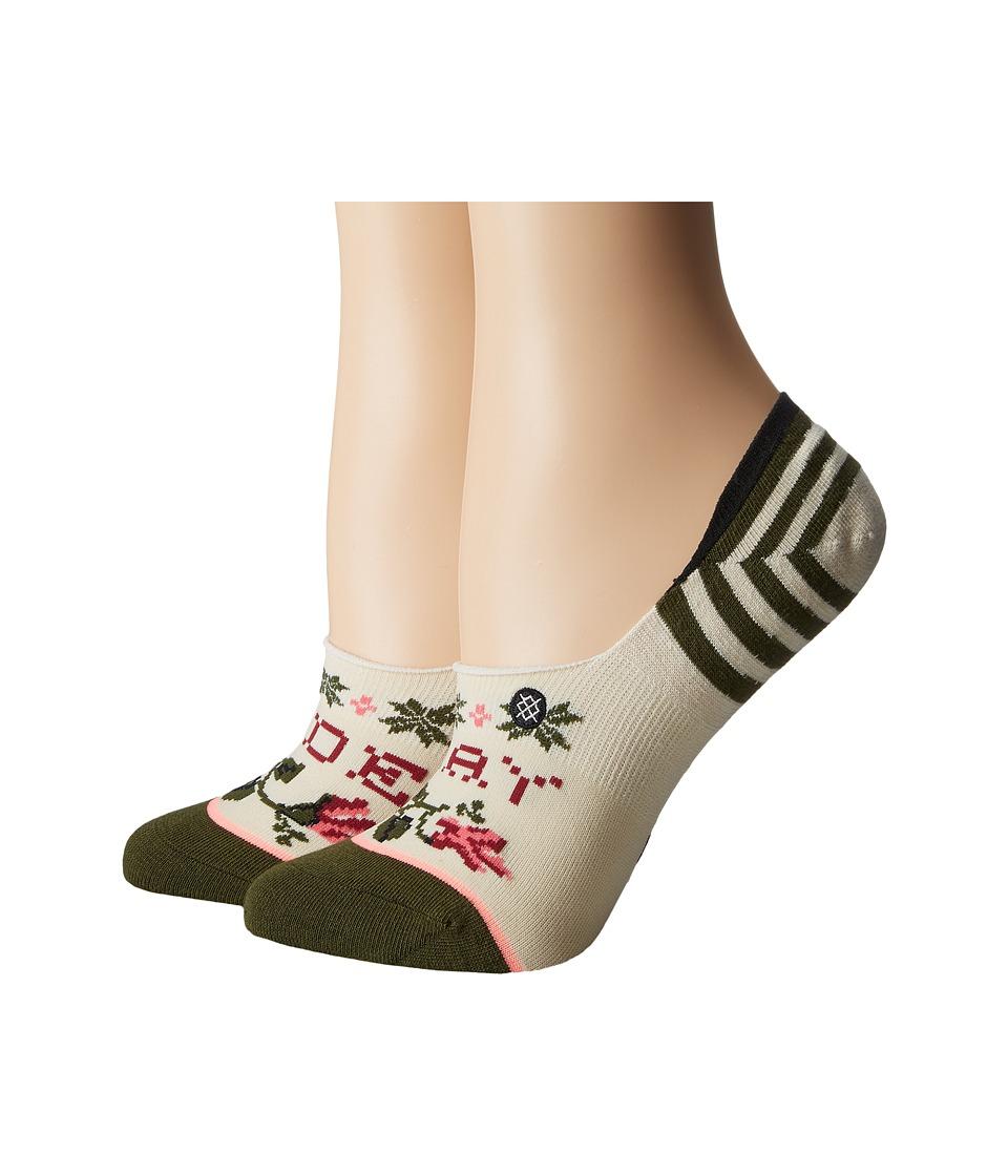 Stance - Slay Ride (Cream) Women's Crew Cut Socks Shoes