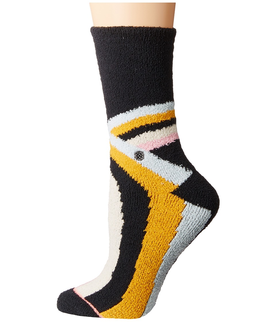 Stance - Alana (Black) Women's Crew Cut Socks Shoes