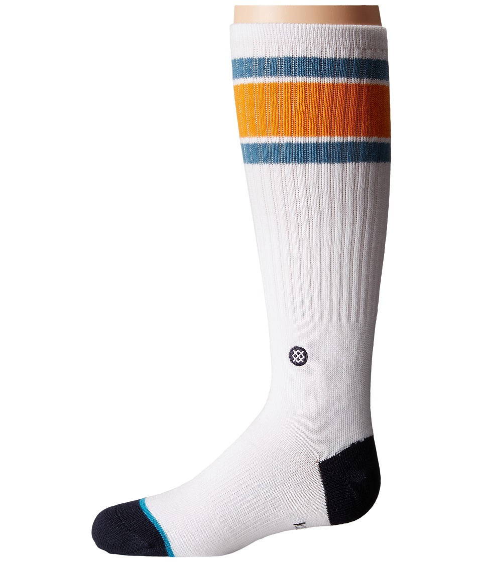 Stance - Ola Vista (Toddler/Little Kid/Big Kid) (White) Men's Crew Cut Socks Shoes