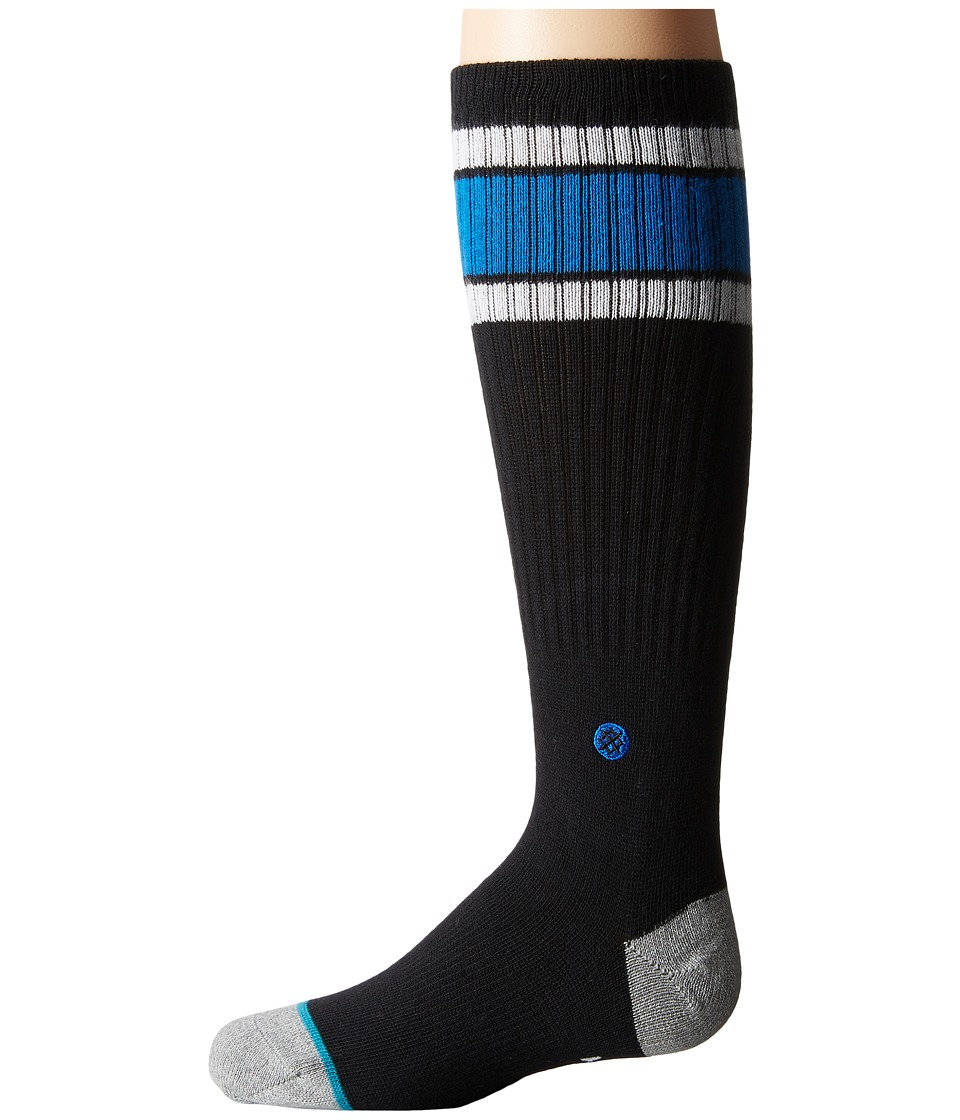 Stance - Ola Vista (Toddler/Little Kid/Big Kid) (Black) Men's Crew Cut Socks Shoes