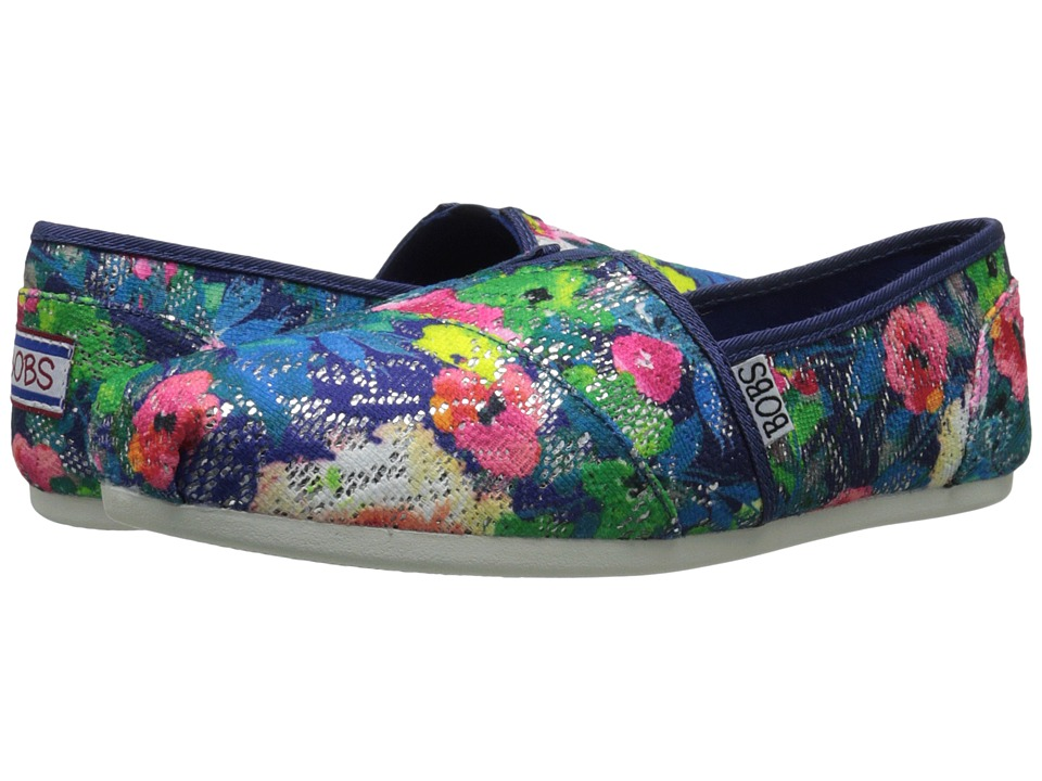 BOBS from SKECHERS - Bobs Plush - Bouquet (Navy/Multi) Women's Shoes