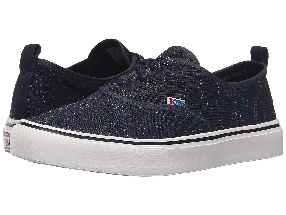 BOBS from SKECHERS - Menace Lite - Glossy (Navy/Multi) Women's Shoes