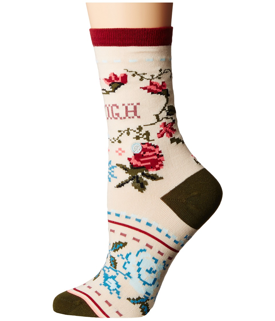 Stance - Sleigh Ride (Toddler/Little Kid/Big Kid) (Cream) Women's Crew Cut Socks Shoes