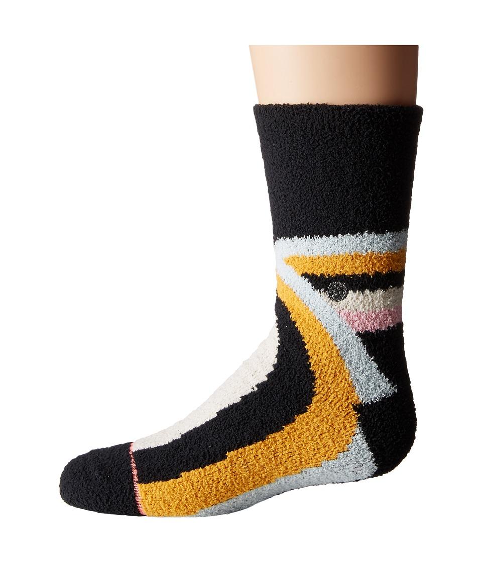 Stance - Alana (Toddler/Little Kid/Big Kid) (Black) Women's Crew Cut Socks Shoes