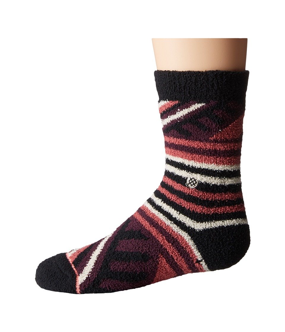 Stance - Camila (Toddler/Little Kid/Big Kid) (Plum) Women's Crew Cut Socks Shoes