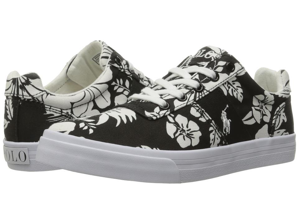Polo Ralph Lauren Kids - Hanford (Big Kid) (Black Base Floral) Girl's Shoes