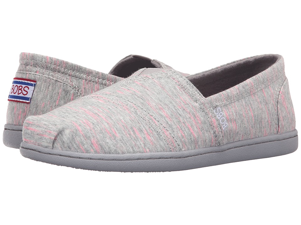 BOBS from SKECHERS Bobs Bliss Dashes Dots (Gray) Women