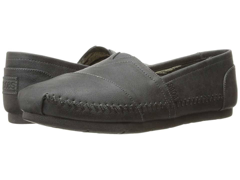 BOBS from SKECHERS Luxe Bobs Blue Skies (Charcoal) Women