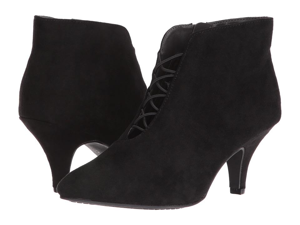 Rialto - Maxine (Black Suedette) Women's Shoes